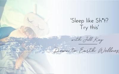 Sleep like Sh*t? Try this