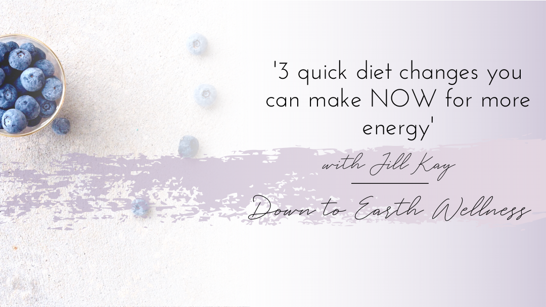3 quick diet changes you can make now for more energy
