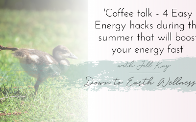 4 Energy Hacks for More Energy in the Summer