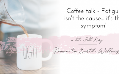 Fatigue isn't the cause.. It's the symptom