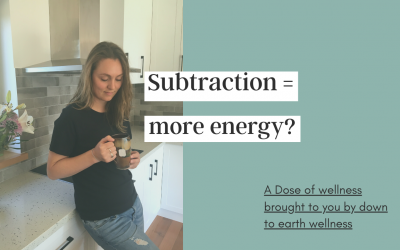 Subtraction = More energy?